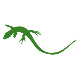 Lizard silhouette simple