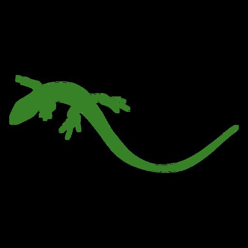 Lizard silhouette simple