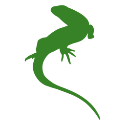 Lizard simple silhouette