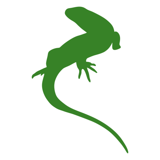 Lizard simple silhouette