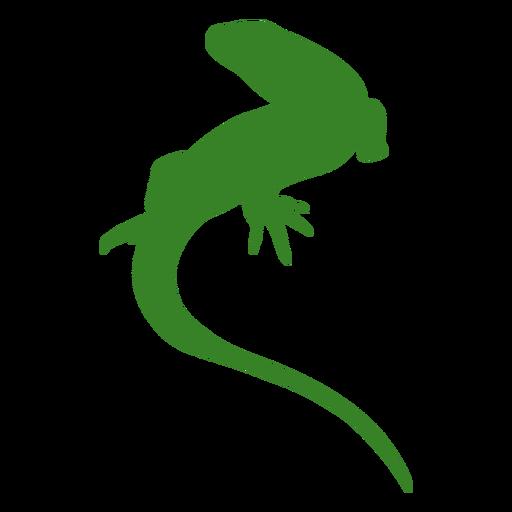 Silueta simple lagarto