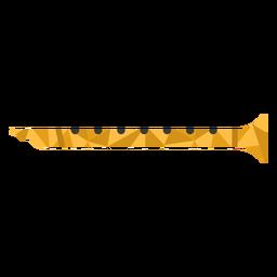 Flauta de poliéster baixo