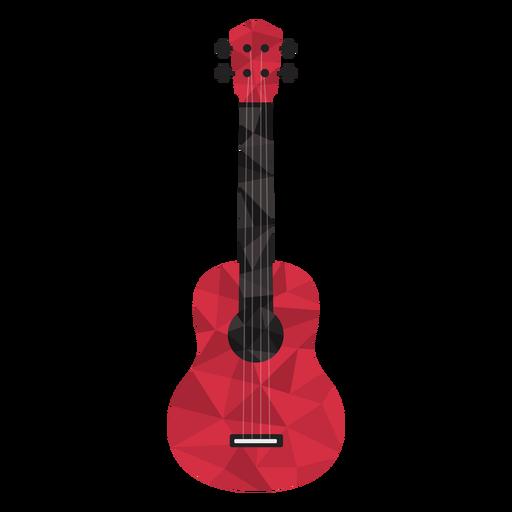 Guitarra low poly de colores