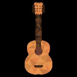 Guitarra low poly violão