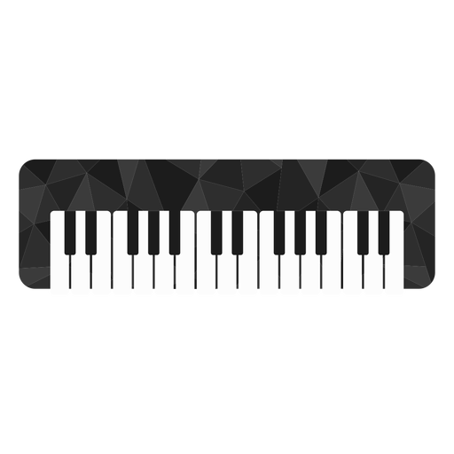 Low poly organ colored
