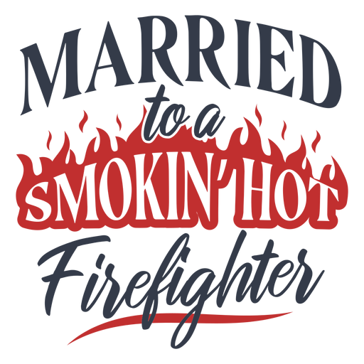 Married smoking firefighter Transparent PNG