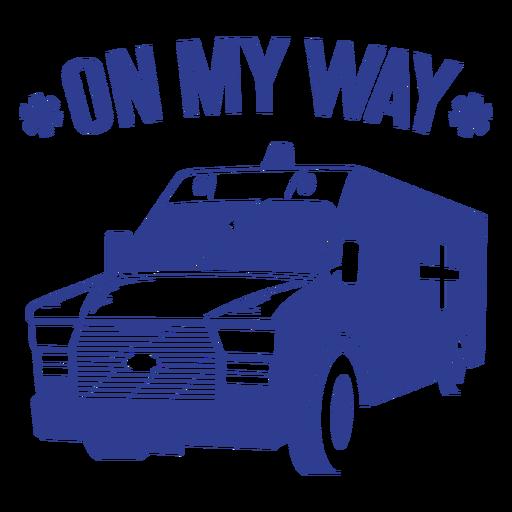 On my way first responder