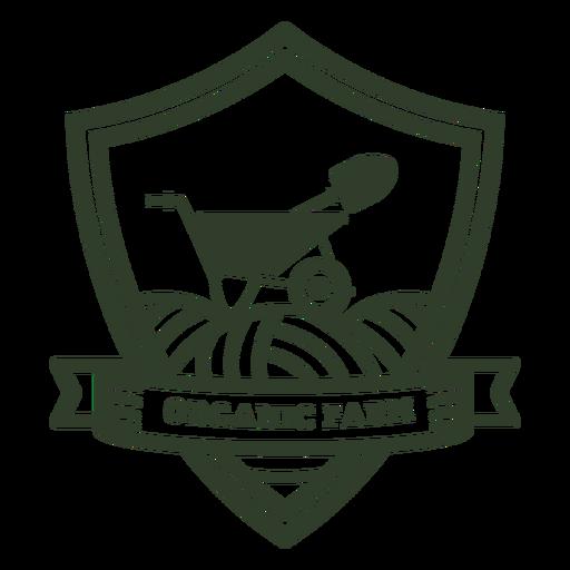 Organic farm badge