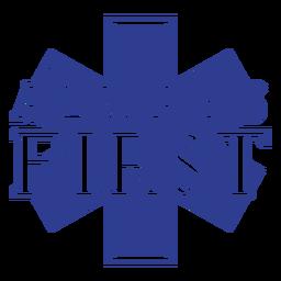 Paramédico siempre primero