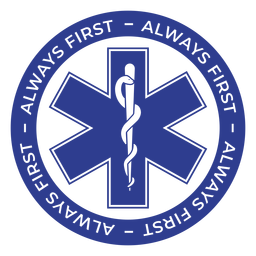 Paramedic always first badge