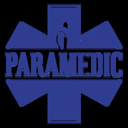 Paramedic badge badge