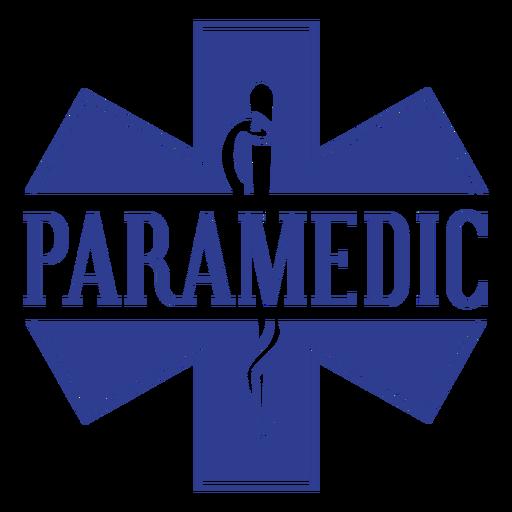 Crachá de paramédico