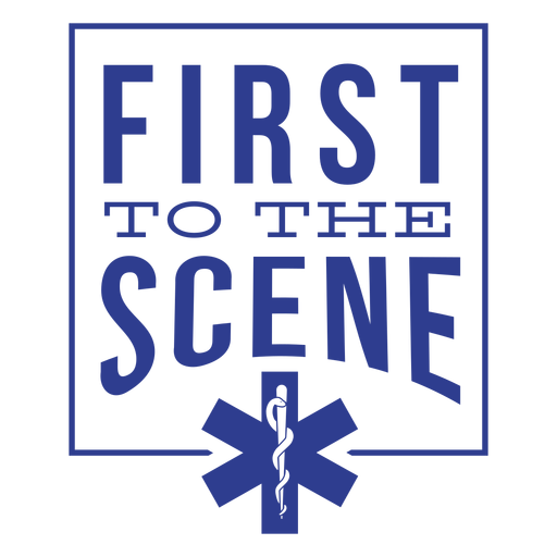 Paramedic first to the scene Transparent PNG