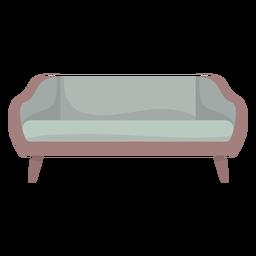 Bonito mueble de sofá de colores