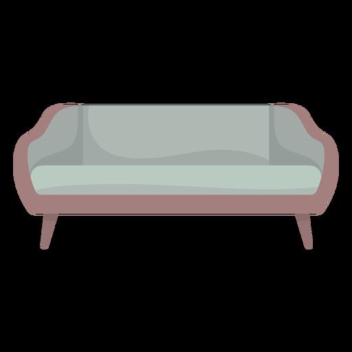 Bonitos muebles de sofá de colores
