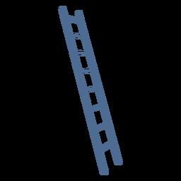 Escalera de silueta simple