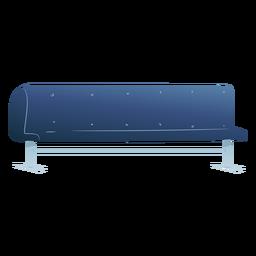 Sofá silla larga