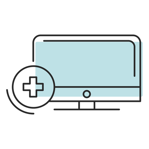 Symbol hospital computer Transparent PNG
