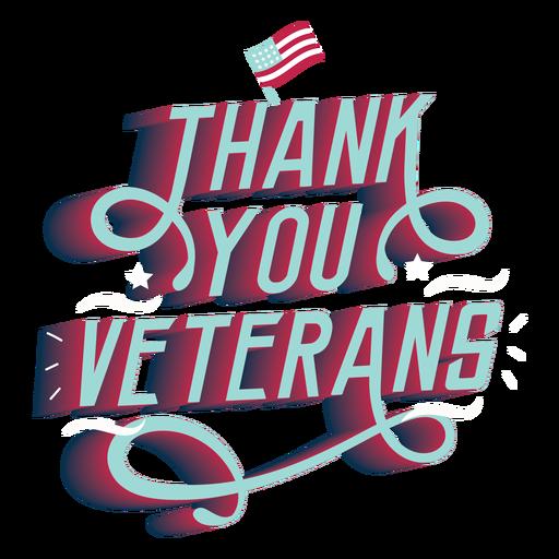 Obrigado veteranos letras