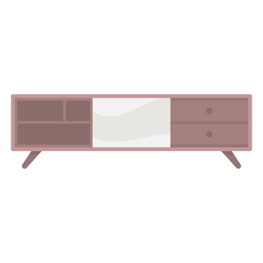 Tv stand colored Transparent PNG