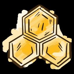 Casa de abelha simples