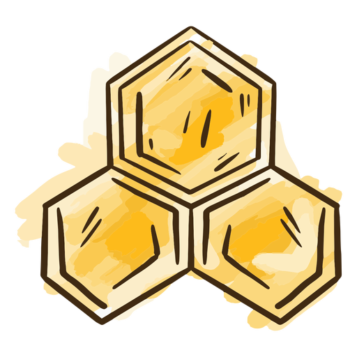 Bee house simple Transparent PNG