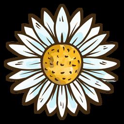 Nette einfache Blume