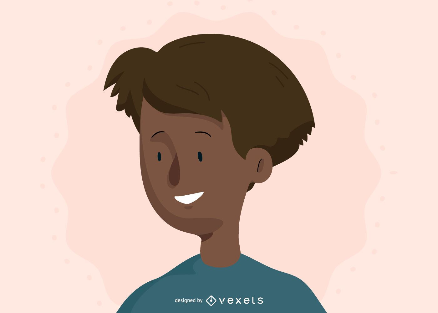 Vector de rostro humano
