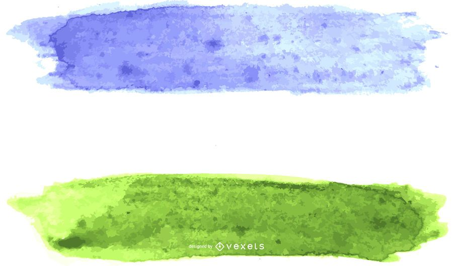 Aquarela da bandeira do orgulho gay