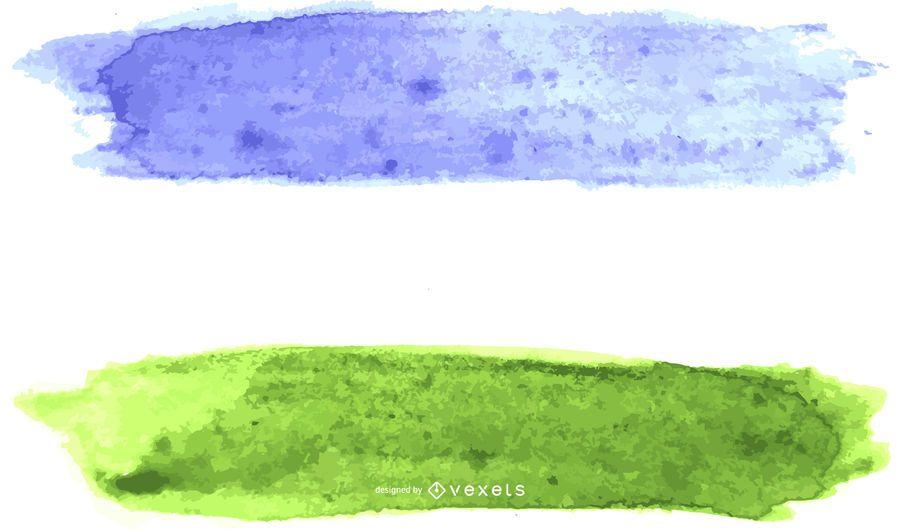 Queer pride flag watercolor