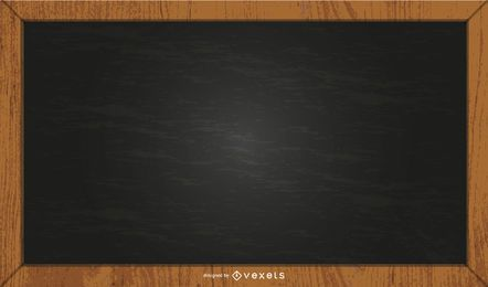black chalkboard illustration