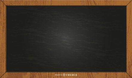 ilustración de pizarra negra