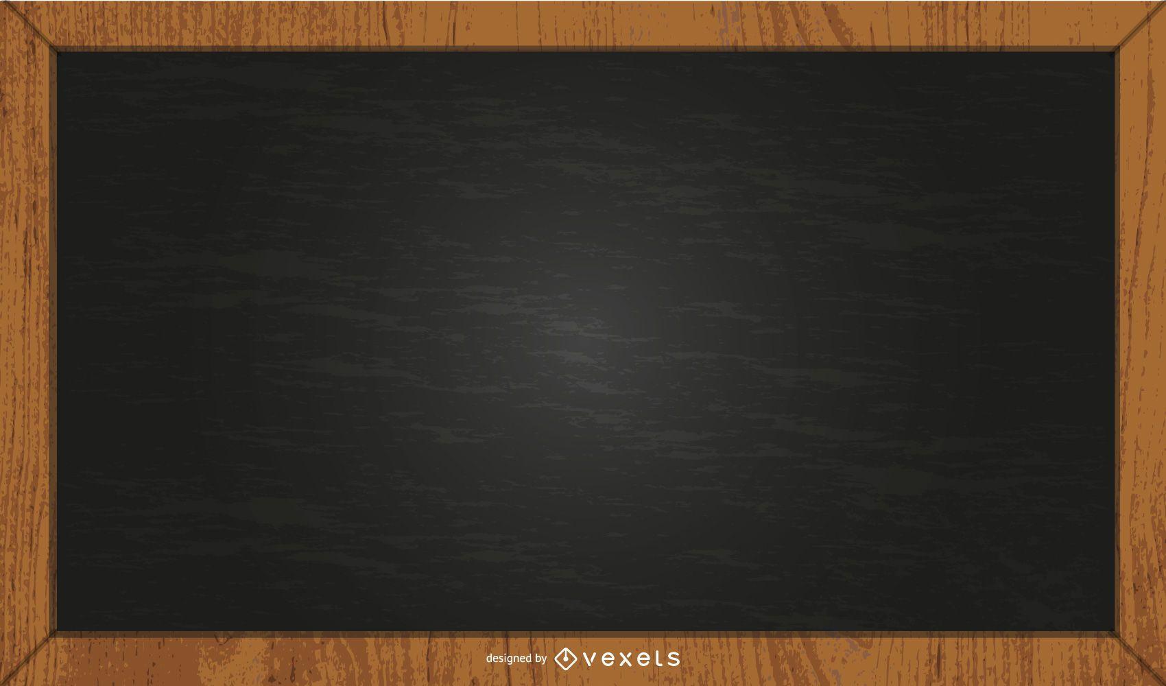 black chalkboard illustration