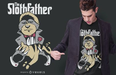 The Slothfather T-shirt Design