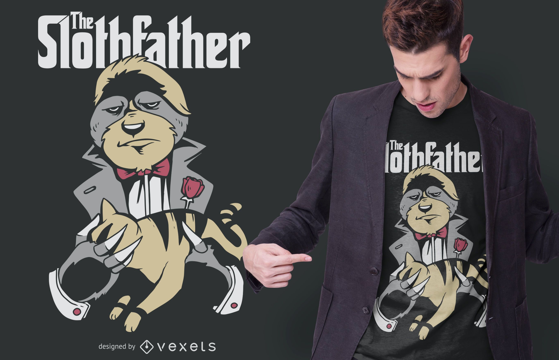 Design de camisetas The Slothfather
