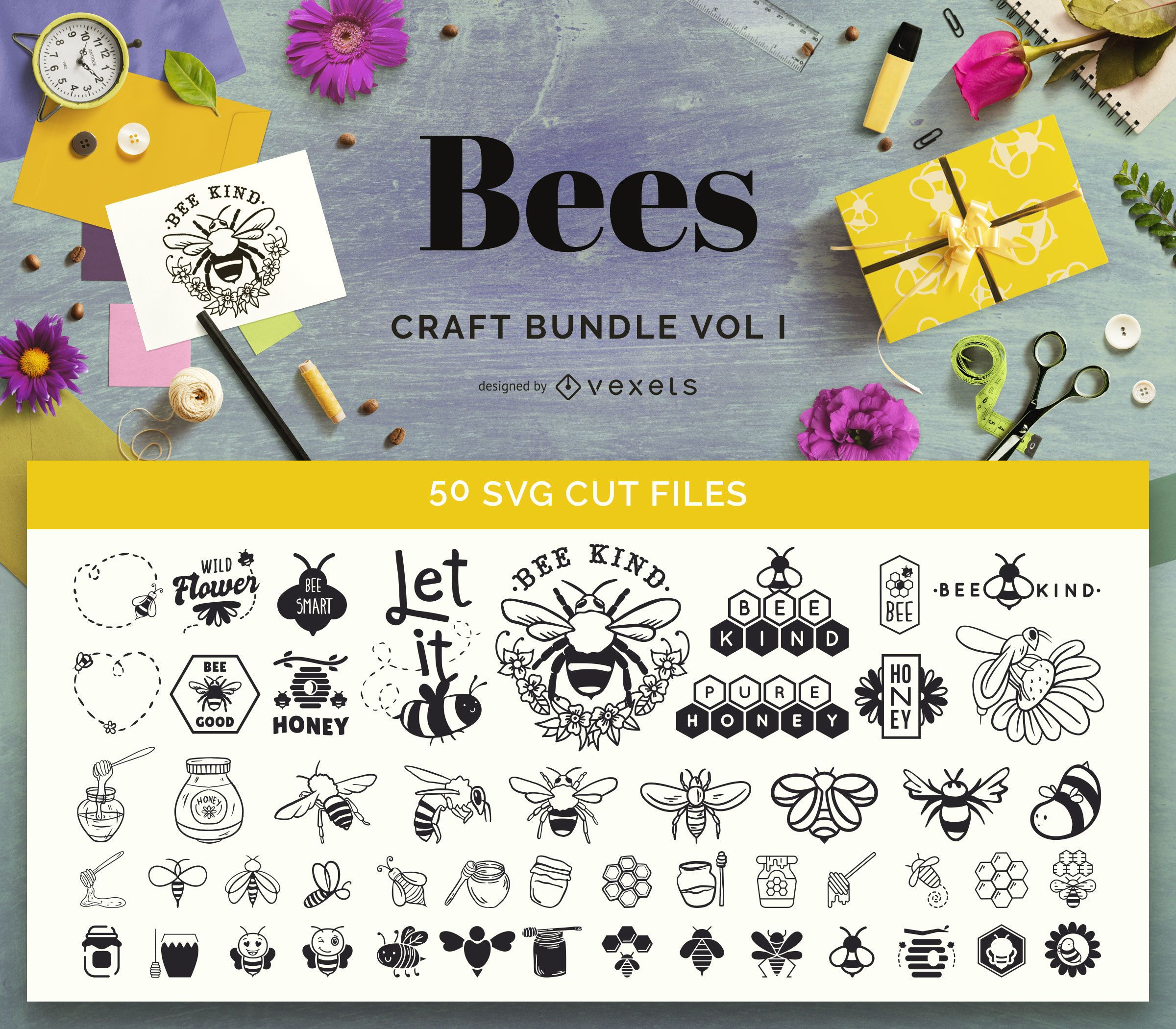 Bee Craft Bundle Vol I