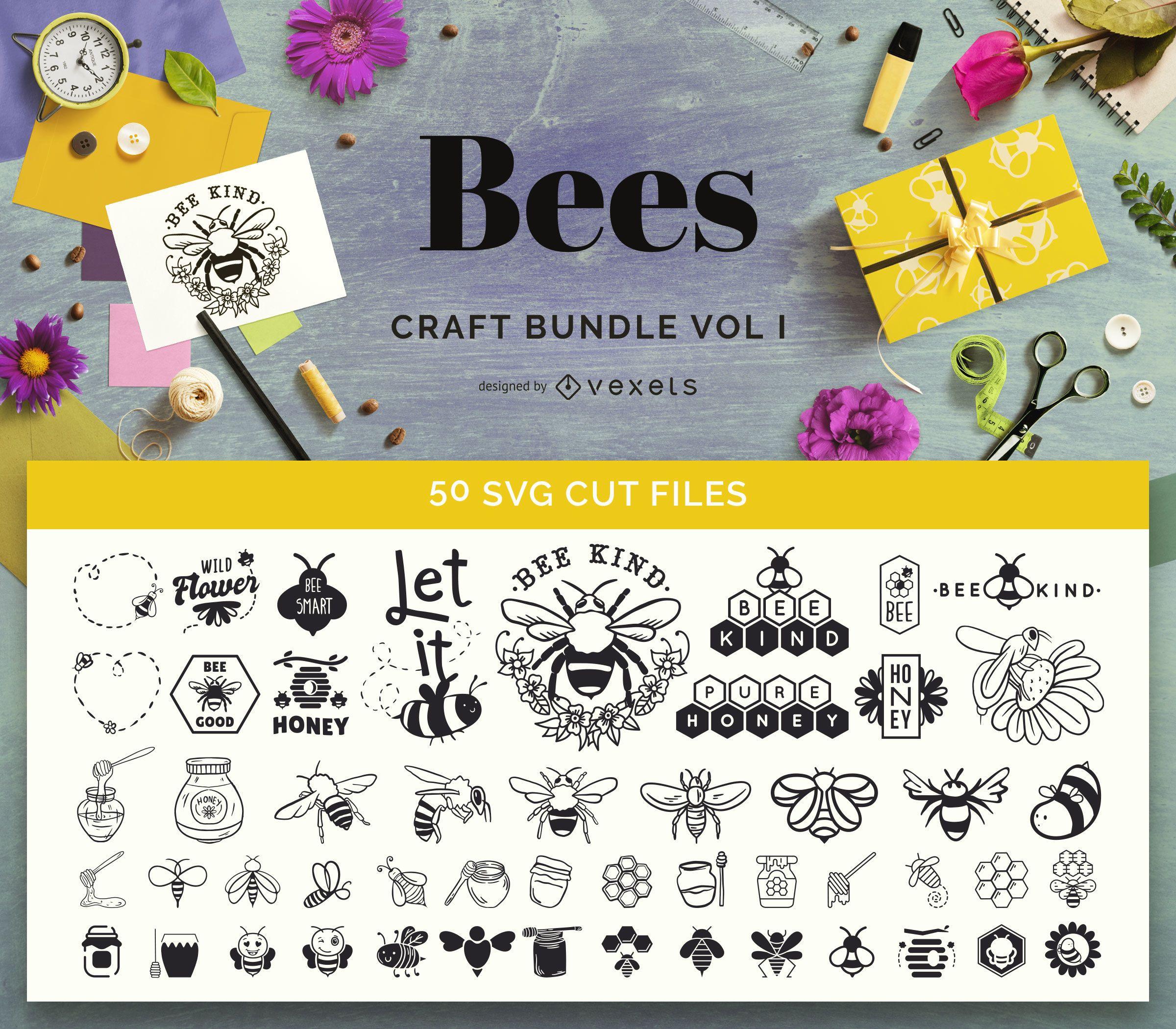 Paquete Bee Craft Vol I