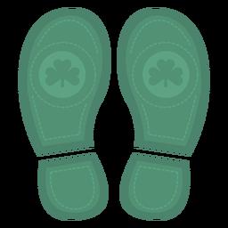 Impresionantes pies de san patricio