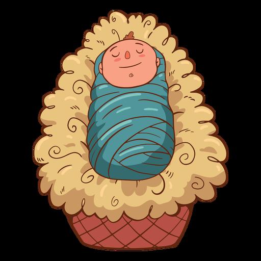 Ilustración de niño jesús