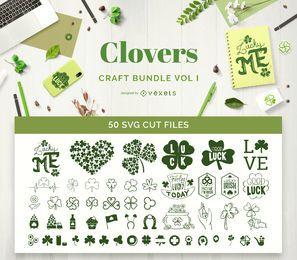 Paquete de artesanía Clovers Vol I