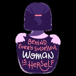 Atrás letras de mulher bem sucedida