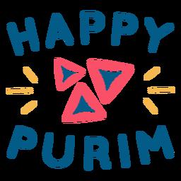 Letras de purim feliz fresco