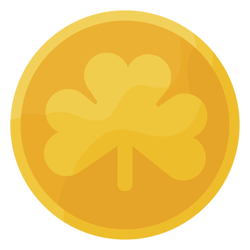 Cool st patrick coin Transparent PNG