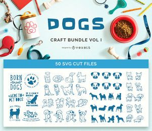 Dogs Craft Bundle Vol. I