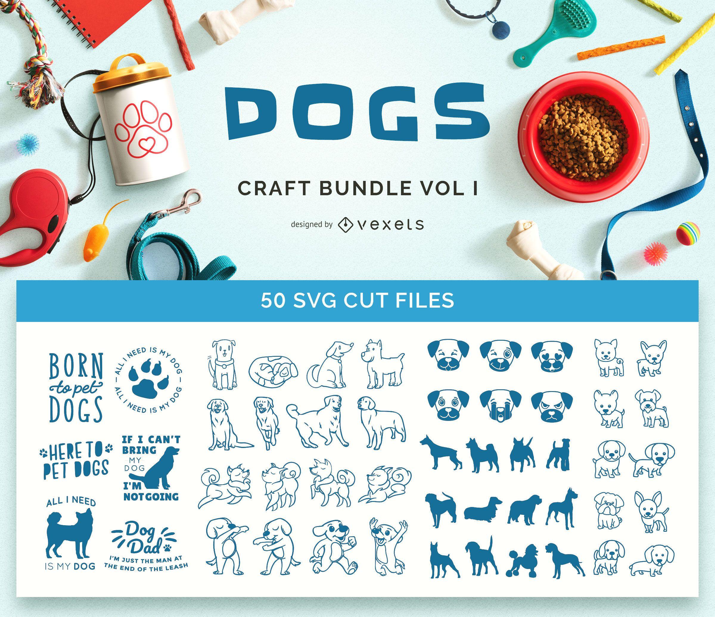 Pacote de artesanato para cães Vol I