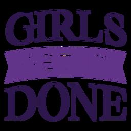Las chicas lo hacen letras