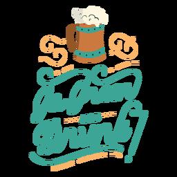 Ir letras de bebida verde