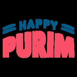 Letras de feliz purim