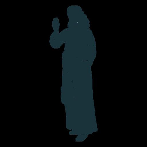 Holy jesus silhouette