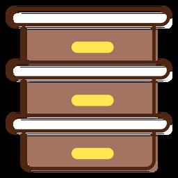 Elemento de miel de icono